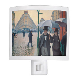 Paris Street Rainy Day | Gustave Caillebotte Night Light