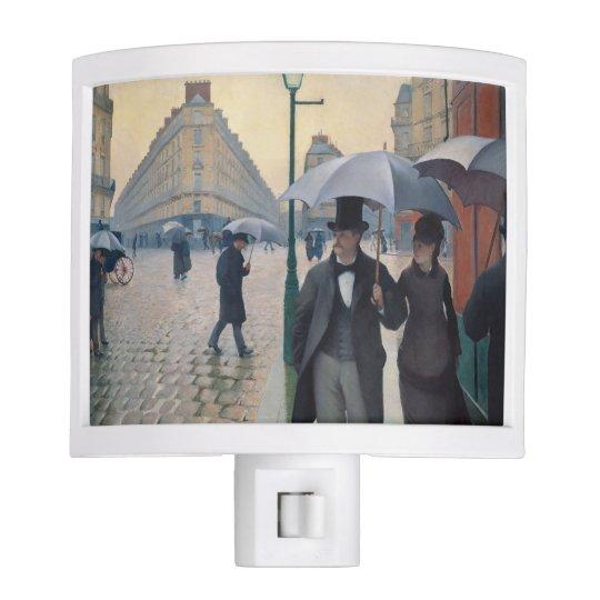 Paris Street Rainy Day | Gustave Caillebotte Night Light