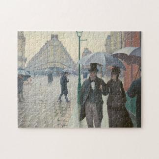 Paris Street Rainy Day Jigsaw Puzzle