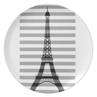 Paris Stripes Plate