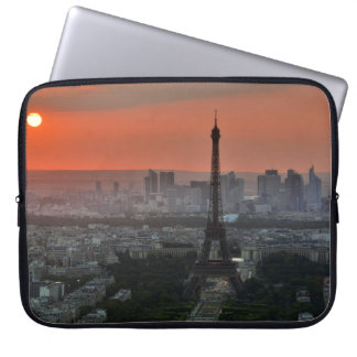 Paris Sunset Computer Sleeve