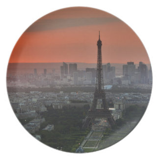 Paris Sunset Plate