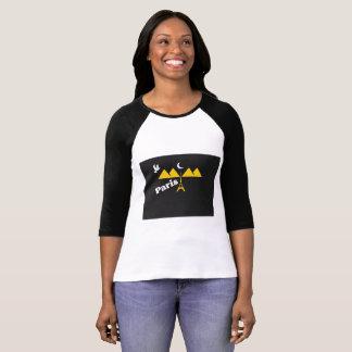 Paris T-Shirts For women 2017,