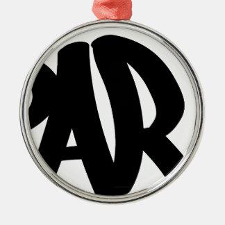 paris-tag metal ornament