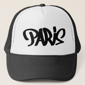 paris-tag trucker hat