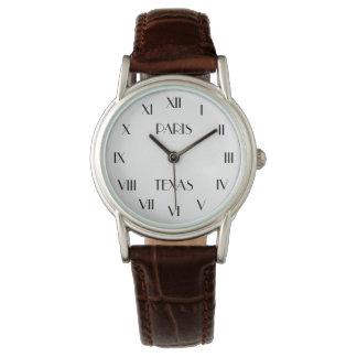PARIS TEXAS   personal message Watch