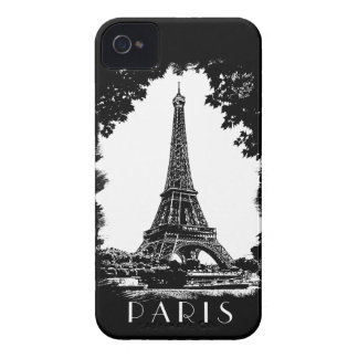 Paris, the Eiffel Tower - iPhone4 Case-Mate case