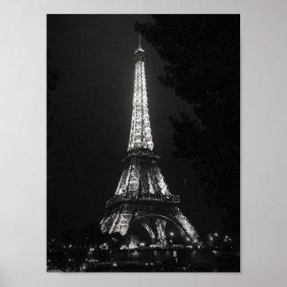 Paris: The Eiffel Tower Poster