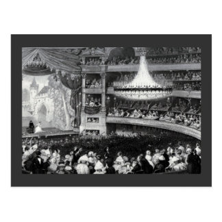 Paris Theater and Stage Postcard