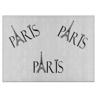 Paris Themed Cutting Board