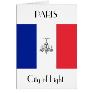 Paris Themed French Fashion Note Card