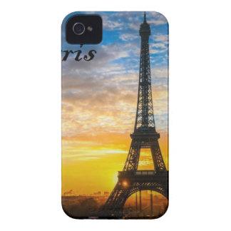 Paris Tour Eiffel in Sunset (St.K) iPhone 4 Case