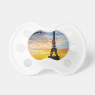 Paris Tour Eiffel in Sunset (St.K) Pacifier
