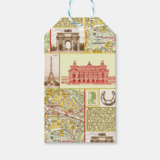 Paris Tour Gift Tags