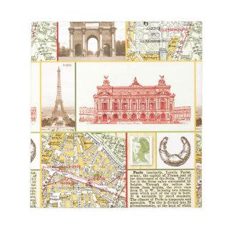 Paris Tour Notepad