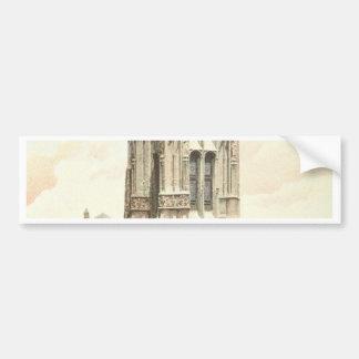 Paris, Tour Saint Jacques Bumper Sticker