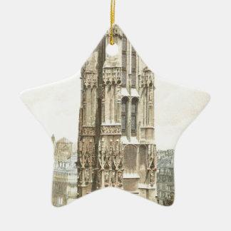 Paris, Tour Saint Jacques Ceramic Star Ornament