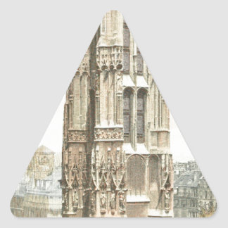Paris, Tour Saint Jacques Triangle Sticker