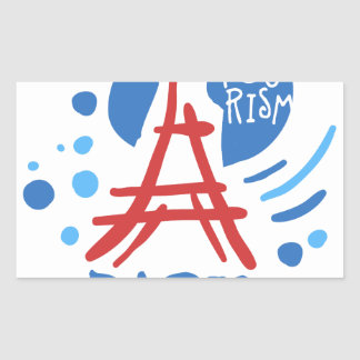 Paris tourism sticker
