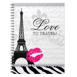 Paris Travel Journal Eiffel Tower Lips
