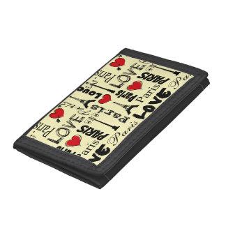 Paris Trifold Wallet