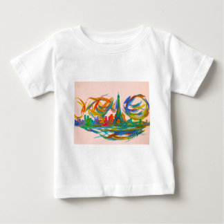 Paris Twist Baby T-Shirt