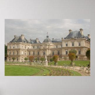 Paris Versailles Architecture Poster