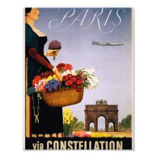 Paris via Constellation Photo Art