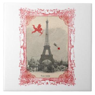 Paris Vintage Cupid Tile Trivet