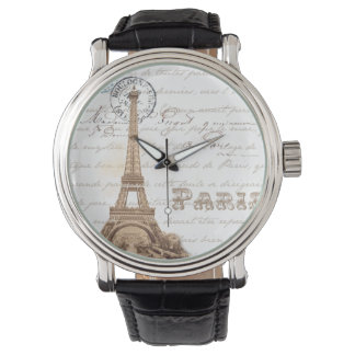 Paris Vintage French Writing Watch