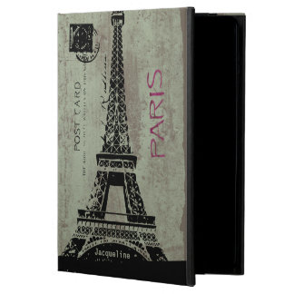 Paris Vintage Postcard Eiffel Tower iPad Air Case