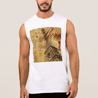 Paris vintage poster. sleeveless shirt