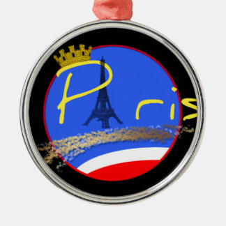 Paris with Crown Ornament