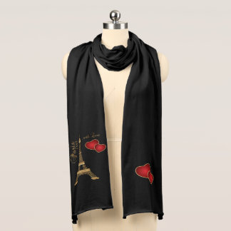 Paris with Love Scarf