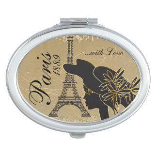 Paris with Love Travel Mirrors