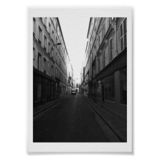 Parisian Alley Poster