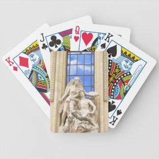 Parisian architecture poker deck
