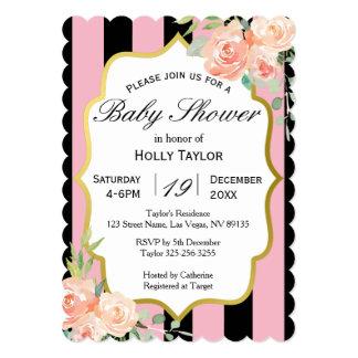 Parisian Baby Shower Invitation