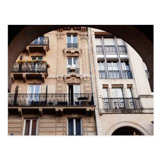 Parisian Balcony Postcard