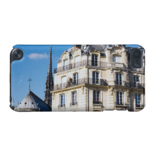 Parisian Building and Notre Dame iPod Touch (5th Generation) Cases
