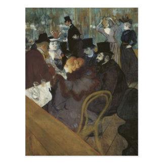 Parisian Cafe Postcard