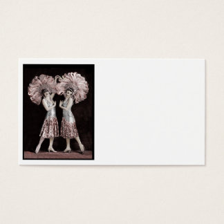 Parisian Dolly Twins Business Card