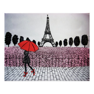 Parisian Girl Poster