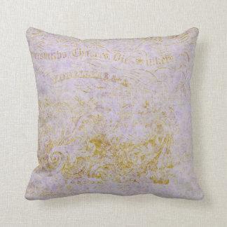 Parisian Lavender Throw Pillow