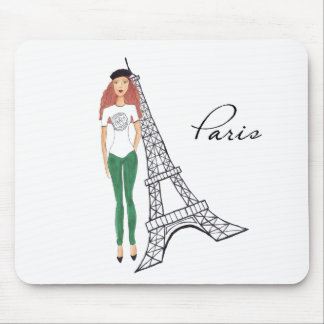 Parisian Mouse Pad