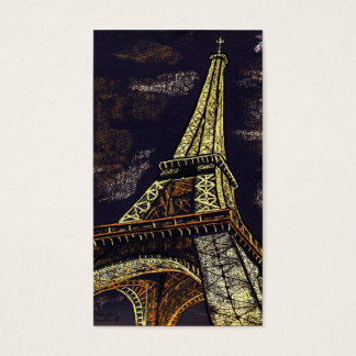 parisian nights business card