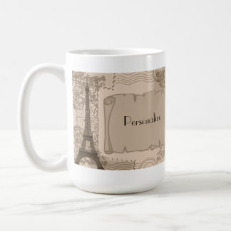 Parisian Sepia Coffee Mug