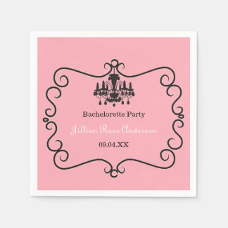 Parisian Themed Bachelorette Party - Napkin