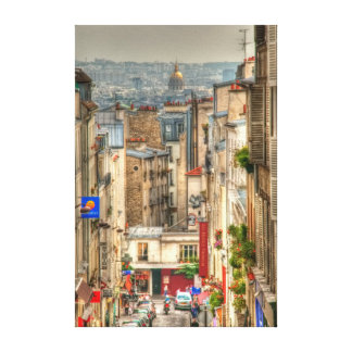 Parisian View Canvas Print