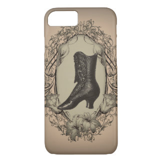 Parisian Vintage Victorian shoe steampunk iPhone 7 Case